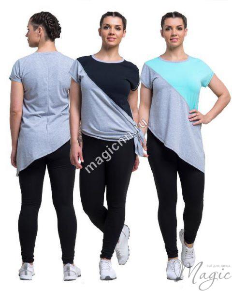 Длинная футболка женская